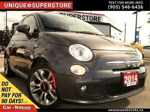 2014 Fiat 500 Sport | POWER GROUP | HEATED SEATS | LEATHER | ALL