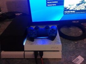 PS4 with Data bank