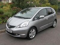 Honda Jazz 1.4 i-VTEC EX 5dr i-SHIFT Auto (silver) 2010