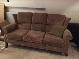 Used Patterned 3 seater Sofa