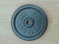 5kg Pro Power Standard Cast Iron Weight Plate Disc