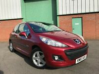 2010 (10) Peugeot 207 1.4 HDI 70 Verve 47,000 MILES EXCELLENT CONDITION FULL SERVICE HISTORY DIESEL