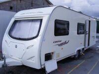 2008 Avondale Dart (Celtic) 630/6, lightweight 6 berth caravan & motor mover