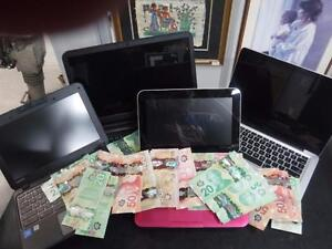 Old laptop in need of an upgrade? CashPawn will buy your old or new laptop for CASH!
