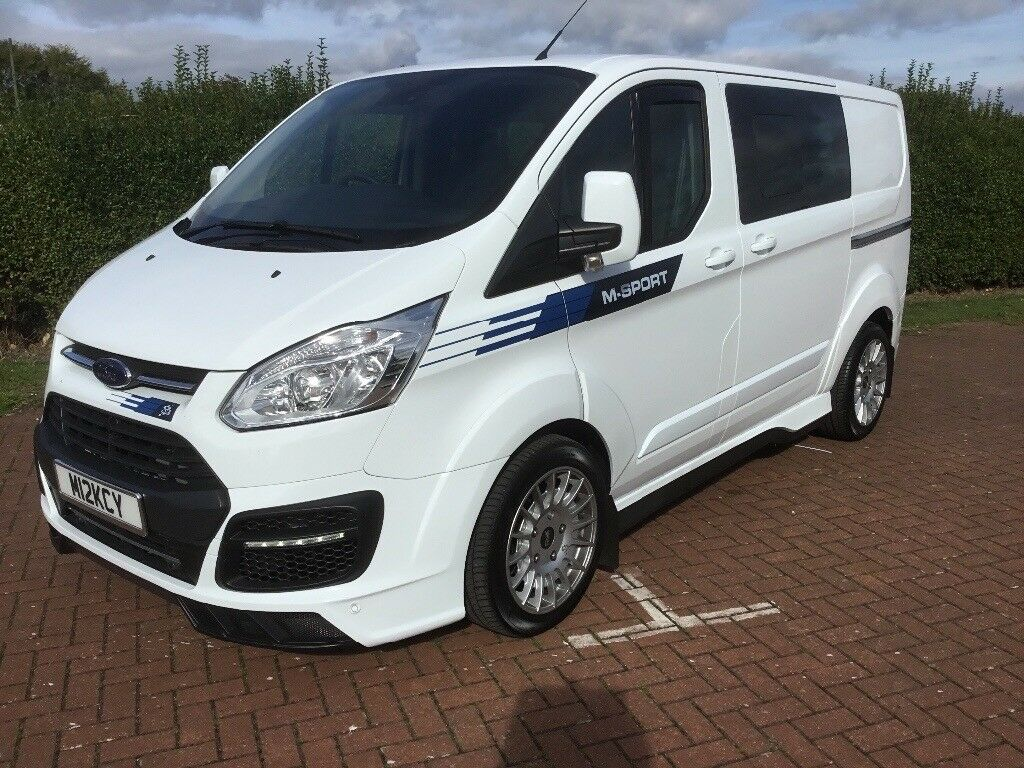 ford transit custom m sport l1 6 seater crew van 170 bhp as new stunning 28000 in minster on. Black Bedroom Furniture Sets. Home Design Ideas
