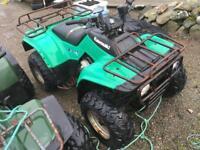 Kawasaki klf 300 wanted