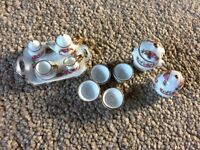 Dolls House Porcelain Tea Set