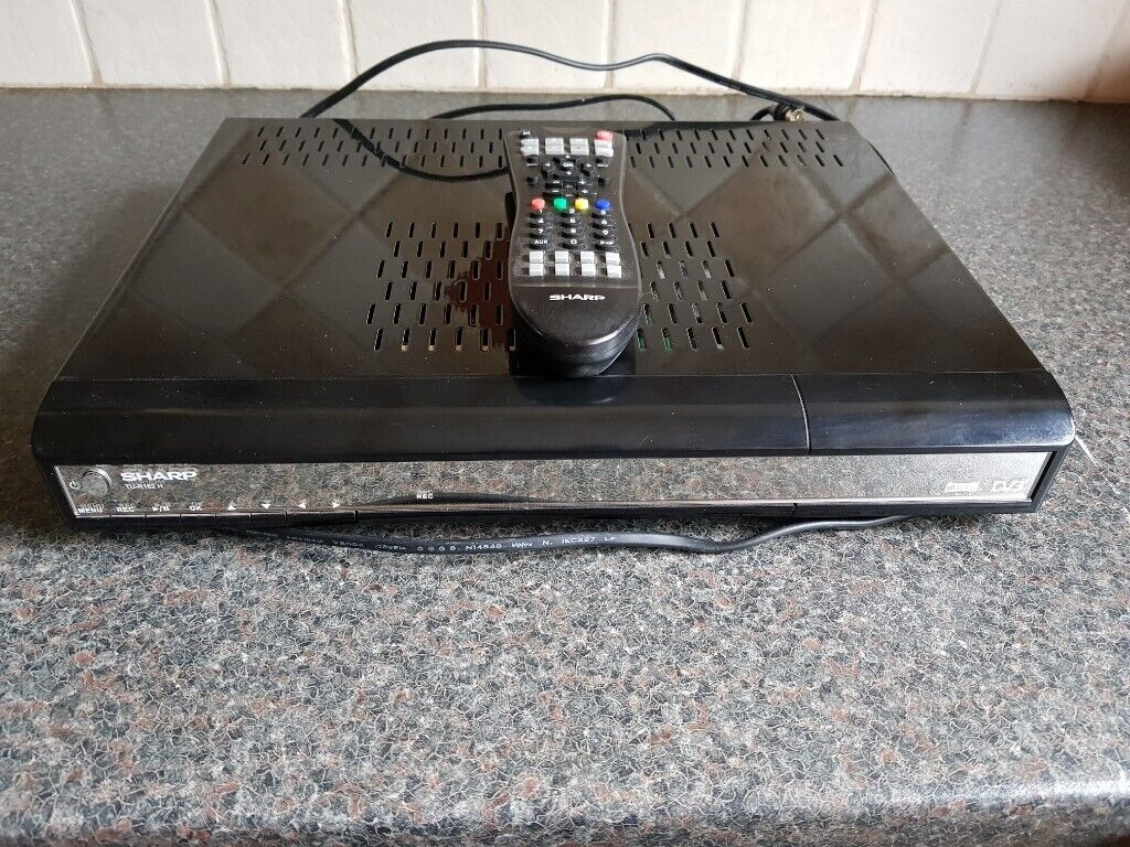 Sharp TU-R162H Freeview Set Top Box/Recorder | in Crewe, Cheshire | Gumtree