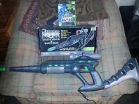 Original xbox sniper scope light rifle and shotgun (with game)