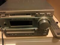 sony very powerfull sterio with speakers just skips on first cd track very very powerfull