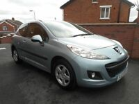 2009 peugeot 207 verve 14hdi{70000 miles,full mot,bluetooth,finance,warranty ava}