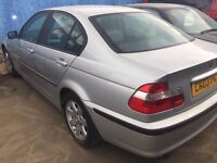 2003 | BMW 316 1.8 SE | Manual | Petrol | NO ENGINE | 2 Former Keepers | Main Dealer History |