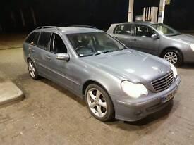 Mercedes c220cdi auto estate 2004 alloy wheel leather trim