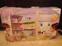 Caring Corners Mrs Goodbee Interactive Dollhouse