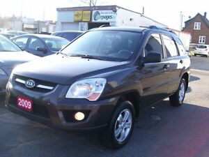 2009 Kia Sportage LX-Convenience/Bluetooth/Fog Lights/Tinted/