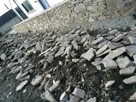 Natural stone slate