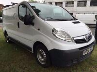 2009 Vauxhall VIVARO. 1 OWNER.FULL SERVICE.AIRBAG.BULKHEAD.CD PLAYER.CENTRAL LOCKING.ROOF RACK.