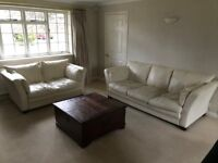 Leather Sofa Suite for Free!