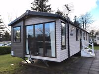 Double glazed, Central heated pre-owned static caravan for sale, Haggerston Castle, Holiday park
