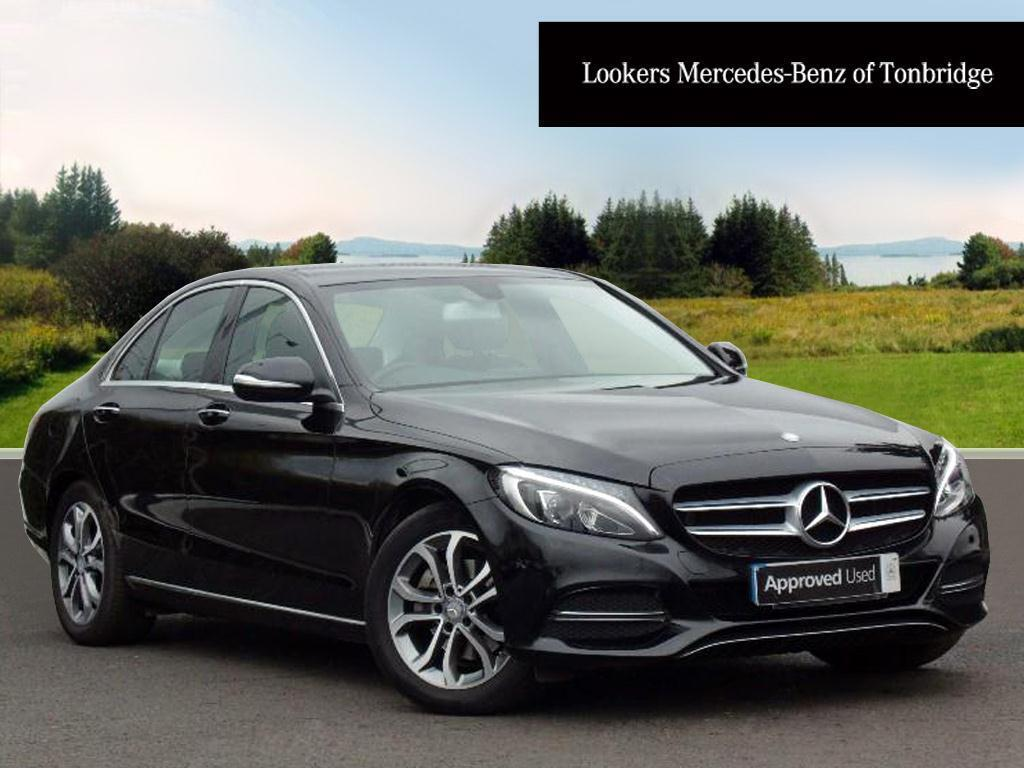 mercedes benz c class c220 bluetec sport premium black 2015 01 26 in tonbridge kent gumtree. Black Bedroom Furniture Sets. Home Design Ideas