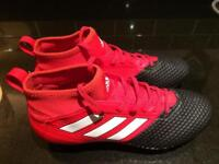 Football sock boots size 7