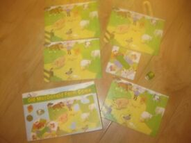 ELC OLD McDONALDs FARM GAME complete & great condition FUN & EDUCATIONAL Age 3-7 approx 2-4 players