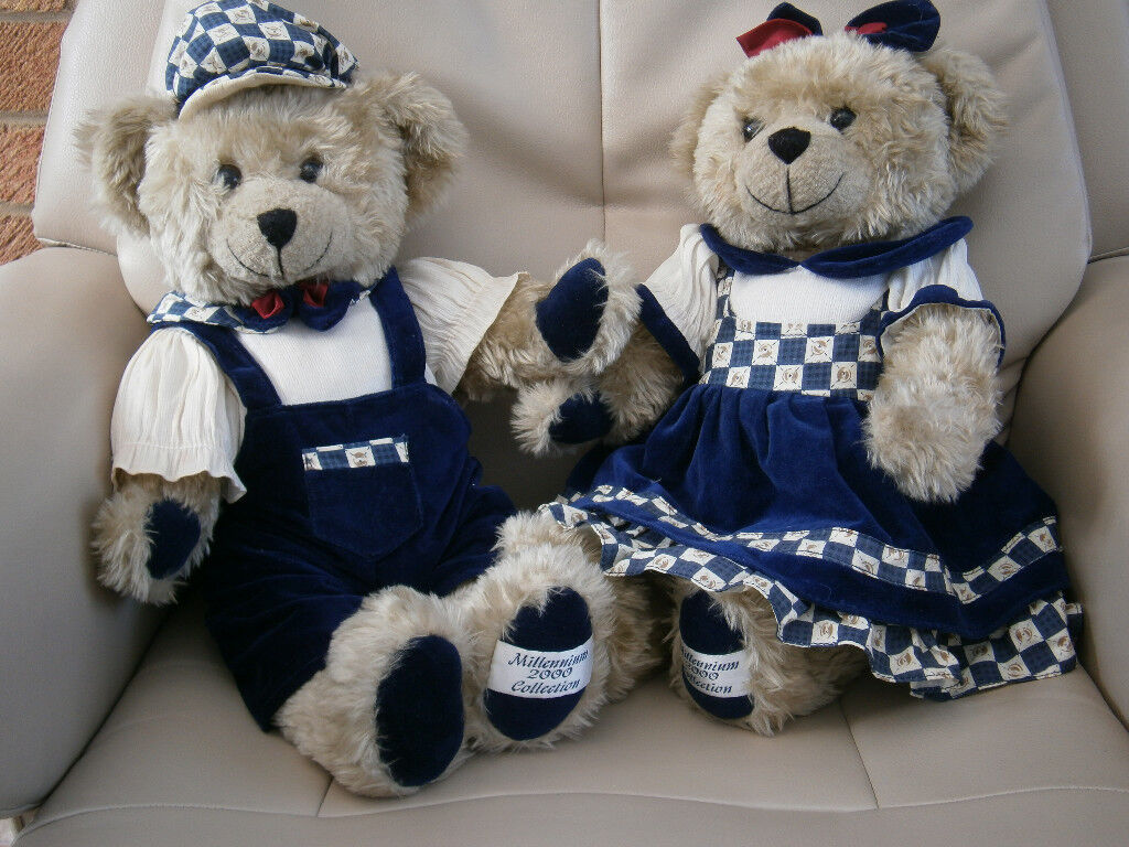 Millennium 2000 Collection Teddy Bears