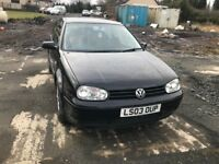 VW Golf mk4,genuine 150ps GT TDI