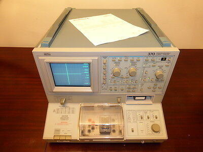 Tektronix 370 Programmable Curve Tracer W A1003 Test Fixture - Calibrated