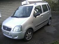 SUZUKI 1-3 WAGON R PLUS (LIMITED EDITION) 5-DOOR 2003 (53 PLATE) 86,000 MILES, SERVICE HISTORY.