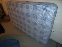 For sale - 1 small double bed (4ft) mattress in very good unmarked condition