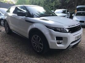 Land Rover Range Rover Evoque 2.0 Si4 Dynamic 4X4 3dr p/x welcome FREE 1 YEAR WARRANTY, NEW MOT