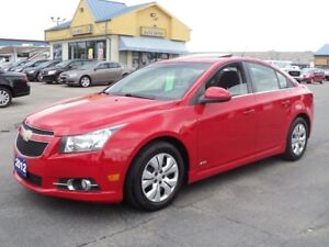 2012 Chevrolet Cruze LT RS MoonRoof 6Speed Manual 1.4L Turbo