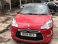 2014 CITROEN DS3 DSTYLE+E HDI MANUAL NEW MOT FREE ROAD TAX AND LOW INSURANCE