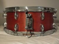 Yamaha Vintage A in Red 8 lugs 3 ply shell with reinforcement rings VGC £225