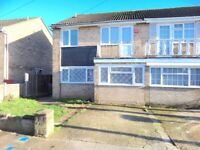 All Bills Included - Three Bedrooms Terraced House - Off Dormers Wells Lane, Southall, UB1!
