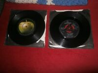 """BEATLES AND WINGS 7"""" VINYL COLLECTION"""