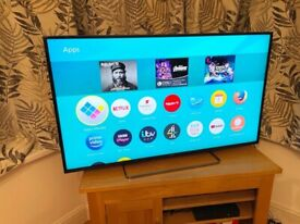 """PANASONIC 50"""" 4K ULTRA HD SMART TV EXCELLENT CONDITION,FULL WORKING ORDER £300 NO OFFER CAN DELIVER"""