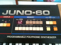 Roland Juno 60 Polyphonic Synthesizer * All-time Classic Analog Synth *