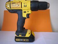 Dewalt Battery Drill 18V