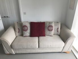 Large settee. Bought from DFS. Hardly used