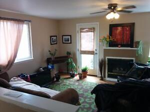 Large, 2-storey, 3 bdrm apartment with a den in Old North.