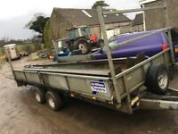 Ifor williams 16ft by 6.6ft trailer will swap for car quad jeep scrambler