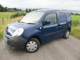 Renault Kangoo ML19DCI Plus 85 BHP New shape Blue NO VAT. NOW WITH MOT UNTIL 5/10/17 .