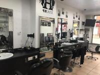 Barber Shop Hair Salon Business For Sale - Busy Main Road Location - Cheap Rent - Equipment Included