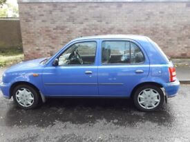 Nissan micra automatic full service history 1ltr,2001