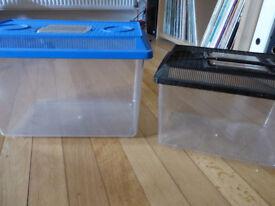 Fish tanks (plastic)