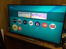 """Panasonic 55"""" smart 4K Ultra HD apps Bargain Netflix YouTube warranty free delivery"""
