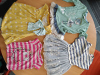 Bundle of Next baby girls's clothes (dresses,tops,leggings)