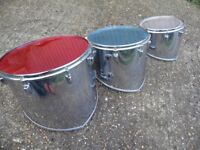 Slingerland USA parade marching tom-toms.